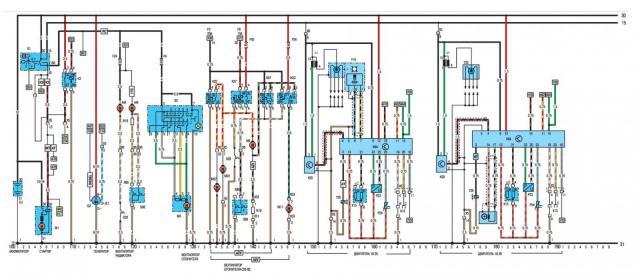 опель вектра2 схема центрального замка