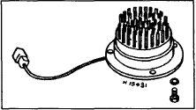 Схема: Типичный термоэлемент электрического подогрева впускного...