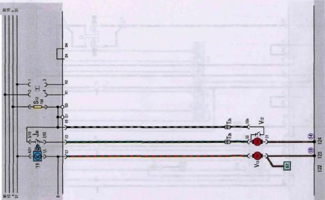 Схемы электрооборудования автомобилей VolksWagen Электрические схемы автомобилей VolksWagen Golf 2 и VolksWagen Jetta...