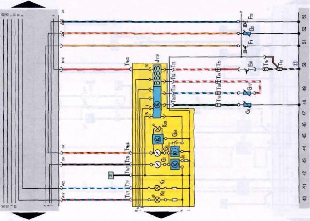 схема электронного датчика уровня омывающей жидкости.