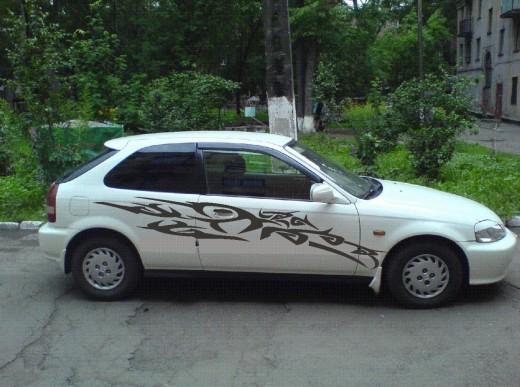 Наклейки на авто красноярск заказать - 182